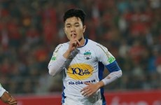 Midfielder Luong Xuan Truong in Football Tribe's Asia XI for March