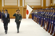 Vietnamese, Japanese defence ministers hold talks