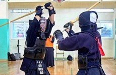 Vietnam Kendo practitioners keep sword skills sharp