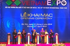 Vietnam Expo 2018 kicks off in Hanoi