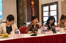 Chinese Embassy in Vietnam meets with local reporters