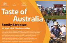 Taste of Australia family BBQ to be held in Da Nang