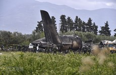 Condolences sent to Algeria over military plane crash