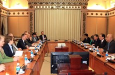 HCM City wishes to expand partnership with German state