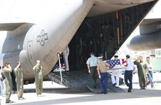 Remains of US servicemen repatriated