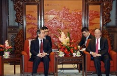Communist Party of Vietnam official pays working visit to China