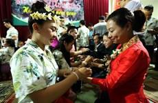 Lao students in Dien Bien celebrate traditional festival
