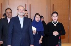 Iranian Speaker of Parliament wraps up Vietnam visit