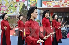 Tour featuring Xoan singing vital to preserve intangible heritage