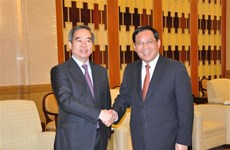 Senior Vietnamese Party official visits Shanghai city