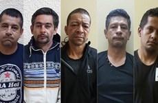 Five Colombian men imprisoned for property theft
