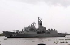 Australian naval ships make port call in HCM City