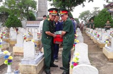 Quang Tri: Memorial service held for remains of soldiers