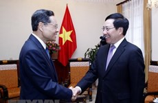 Deputy PM: Vietnam treasures relations with China