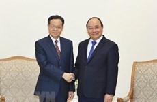 PM receives Chairman of Guangxi Zhuang Autonomous Region