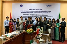 Singaporean company helps Vietnam with rare disease treatment