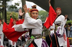 Japanese artists to perform Yosakoi dance at Hanoi's walking area