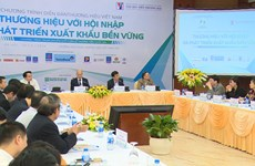 Forum highlights importance of brand building for sustainable exports