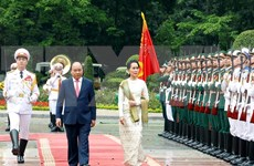 Vietnam, Myanmar issue joint statement