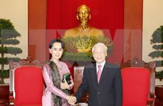 Party chief: Vietnam wants to expand cooperative ties with Myanmar