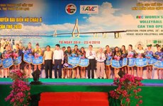 Asian Women's Beach Volleyball Championship kicks off