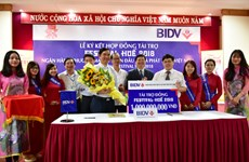 BIDV donates 1 billion VND to Hue Festival