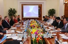 Chairman of Party's economic commission hosts int'l energy experts