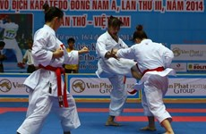 7th Southeast Asia karate champs opens in Bac Ninh province