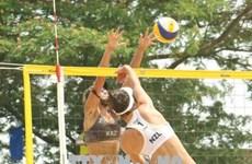 Kazakhstan crowned champion at AVC Women's Beach Volleyball tournament