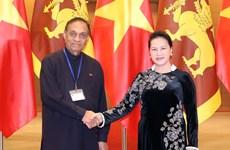 Vietnamese, Sri Lankan top legislators hold talks