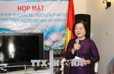 Former Vice President meets Vietnamese expats in Australia