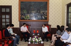Vietnam, China step up press cooperation