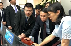 Vietnam News Agency leader active in China