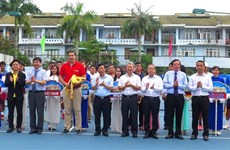 Vietnam international tennis tourney opens