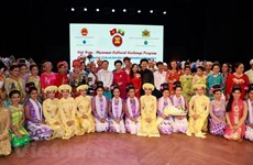 Exchange programme tightens Vietnam-Myanmar cultural links