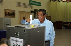 Cambodia registers parties for upcoming general election