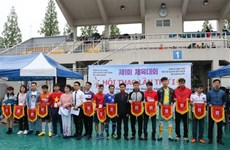 Vietnamese People's Association in RoK holds first sports event
