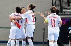 Vietnam enters quarter-finals at women's futsal tourney
