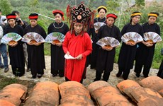 Cao Bang: Nang Hai festival named national intangible heritage