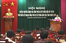 Training course on oil spill response held in Quang Binh province
