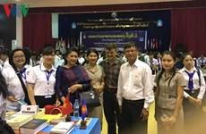 ASEAN writers talk reading books in Laos