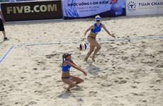 World women's beach volleyball event kicks off in Quang Ninh
