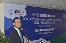 USAID project helps Vietnam's wildlife protection