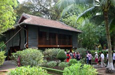 Stilt houses associated with President Ho Chi Minh's revolutionary activities