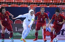 Vietnam lose to Iran at AFC futsal event