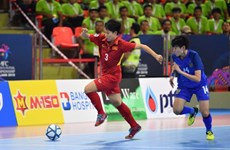 Vietnam ranks fourth at AFC Women's Futsal Champs