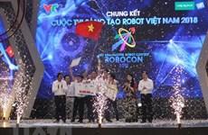 Lac Hong team triumphs at Robocon Vietnam 2018