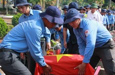 Dak Lak reburies soldiers' remains repatriated from Cambodia
