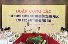 PM urges Quang Tri to improve administration for people, businesses