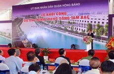Hai Phong master planning's adjustments